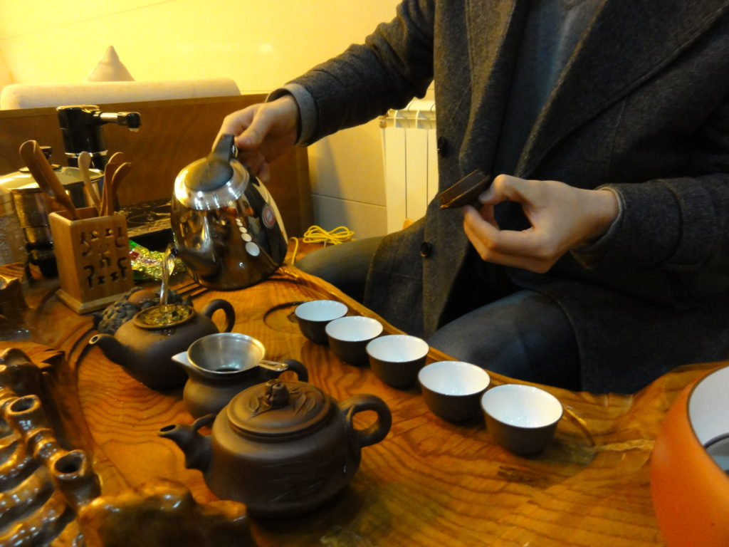 Gongfu tea sets come in myriad beautiful shapes and sizes