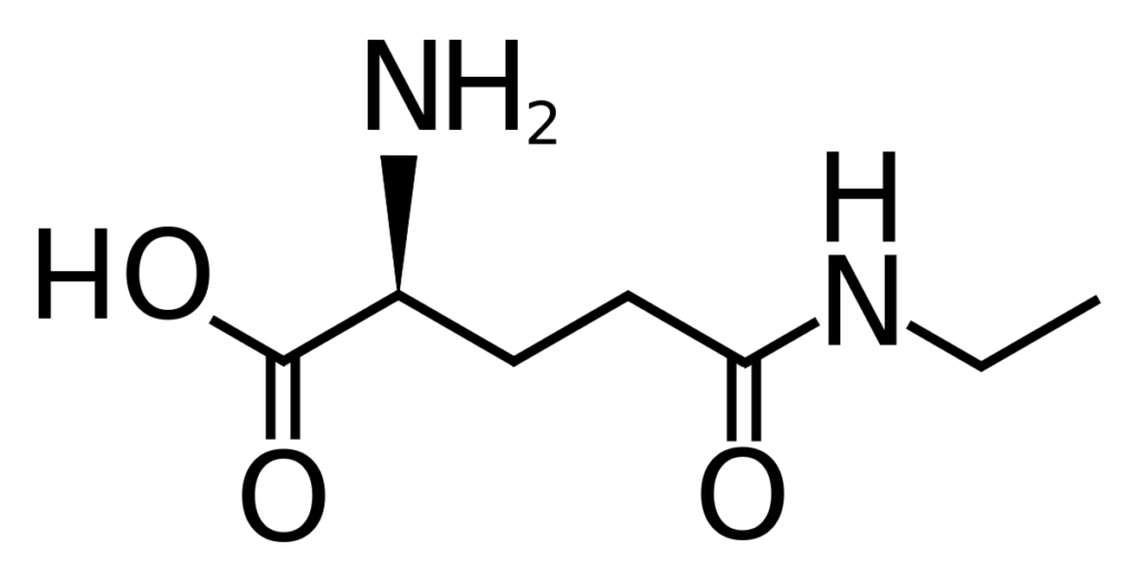 l-theanine molecule