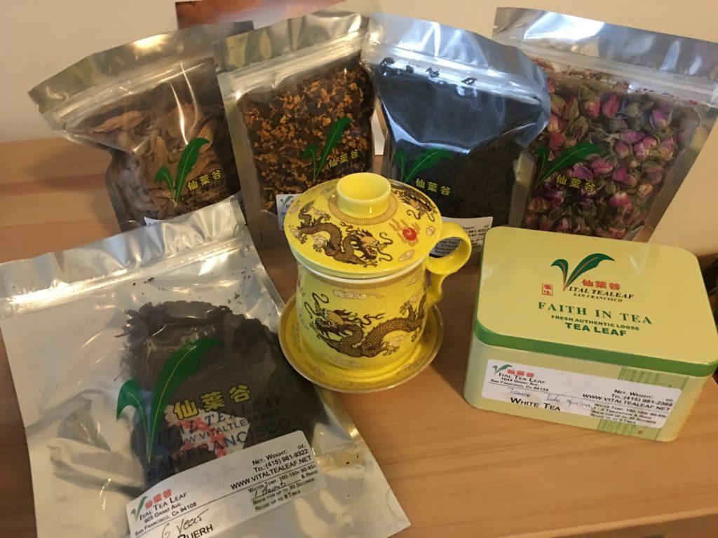 Vital Tea Leaf Teas