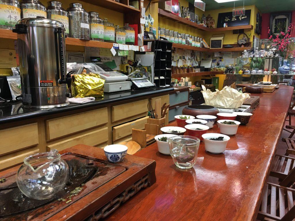 Vital Tea Leaf Store Chinatown