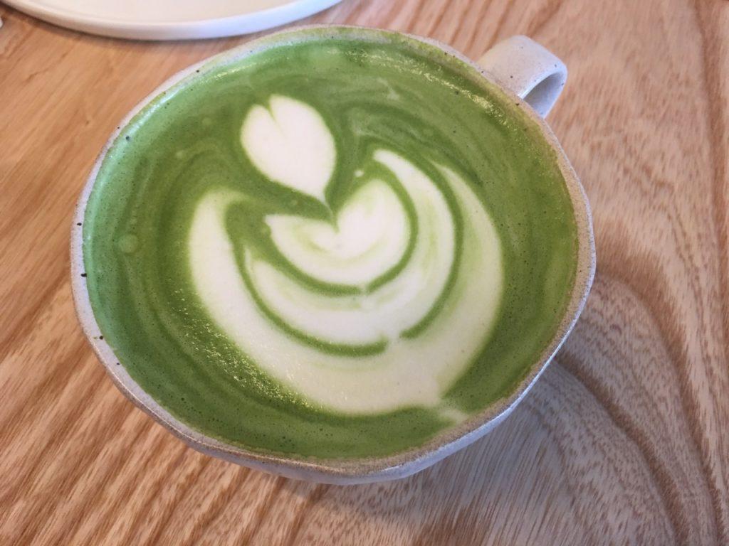 stonemill matcha latte